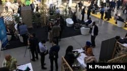 General view of Station F where Afrobytes 2019 took place in Paris, May 15th 2019.