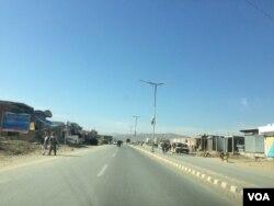 میرعلی قصبے سے گزرنے والی ایک شاہراہ