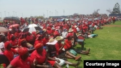 Some MDC-T supporters at White City Stadium on Saturday, October 1, 2016. ((Photo: MDC-T)