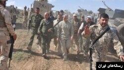 قاسم سلیمانی فرمانده سپاه قدس ایران در سالهای اخیر هدایت نیروهای ایران در عراق و سوریه را بر عهده دارد.