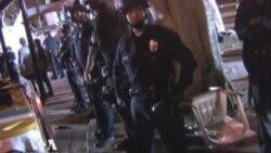 Полиция расчистила протесты в Лос-Анджелесе