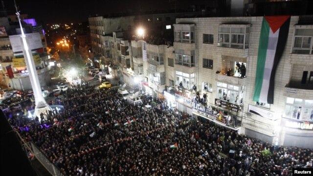 Multitudinarias son las celebraciones en el Estado palestino por el reconocimiento logrado en Naciones Unidas.