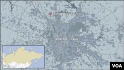 Aerodrom Šeremetjevo u Moskvi.