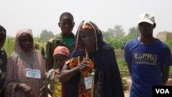 Yamirai Hawa, popular known as Hajia Hawa, is popular in community for her charity towards people displaced by Boko Haram's violence, Maiduguri, Nigeria, Sept. 2016. (Photo: C. Oduah)