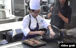 Mimi Chen, 18, is among the aspiring chefs competing for a chance to attend the premiere Bocuse d'Or cooking competition.