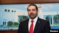 Prime Minister Saad Hariri.