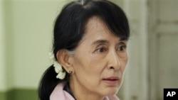 缅甸反对派领导人昂山素季
