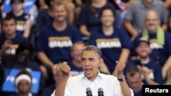奥巴马九月 三号向汽车工人讲话