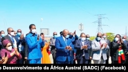Chefes de Estado e de Governo da SADC, 11 de Maio de 2021
