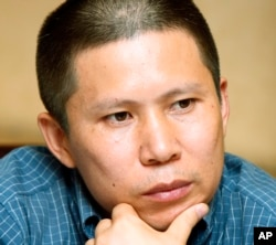 被中国当局逮捕和审判的法律维权人士和公民运动发起人许志永