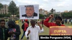 ການປະທ້ວງຂອງປະຊາຊົນ ຕໍ່ຕ້ານທ່ານ Jacob Zuma, ປະທານາທິບໍດີຂອງອາເຟຣິກາໃຕ້