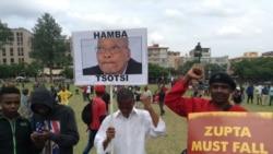 Milhares pedem a demissão de Zuma
