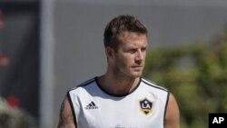 David Beckham, bintang sepakbola Inggris, tidak yakin dirinya orang yang tepat untuk menyalakan api olimpiade.