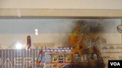 파키스탄 카리치의 한 학교에 무장괴한들의 공격이 가해져 학교 교장이 사망하고 어린이 6명이 부상했다.
