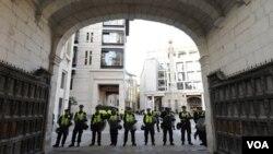 El Comité Organizador inglés estima que se necesitan cerca de 21.000 efectivos de seguridad para la competición.