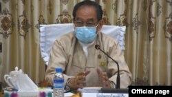 က်န္းမာေရးနဲ႔ အားကစားဝန္ႀကီးဌာန ျပည္ေထာင္စု၀န္ႀကီး ေဒါက္တာျမင့္ေထြး (ဓါတ္ပံု-Ministry of Health and Sports, Myanmar)