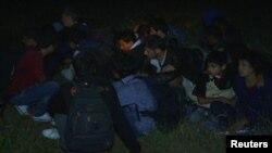 Ilegalni imigranti iz Alepa, Sirije uhvaćeni u Srbiji