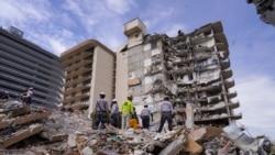 佛羅里達倒塌公寓樓的殘留部分將拆除確保安全