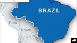 巴西地图(资料照片)