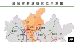 新塘镇属广州市郊区