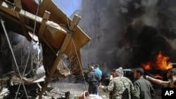 大馬士革外的賽義德澤納布聖殿星遭到攻擊