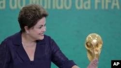 Brazil WCup Rousseff Speech