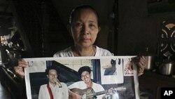 버마 정부가 석방한 것으로 알려진 반체제 인사 아예아웅의 사진.