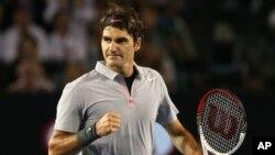 Petenis Swiss Roger Federer adalah juara bertahan dan sudah meraih gelar juara Wimbledon sebanyak tujuh kali (foto: dok).