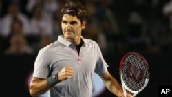 Petenis Swiss Roger Federer merupakan pemain terlama yang pernah menduduki peringkat pertama, yaitu selama 302 minggu. (Foto: Dok)