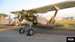 莫斯科航展上的蘇聯 I-15戰機