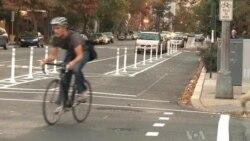 Bike Commuters in Washington Double, Changing US Capital