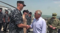 Hagel Wraps Up Visit Aimed at Reassuring Asian Allies