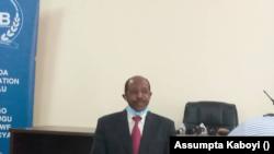 Rusesabagina Paul mu maboko ya RIB tariki ya 31/08/2020.