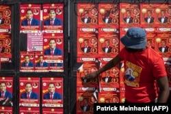 Cartazes de Hakainde Hichilema