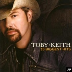 """Toby Keith's """"35 Biggest Hits"""" CD"""