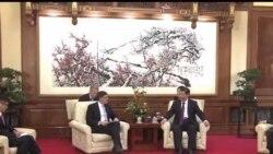 2013-11-15 美國之音視頻新聞: 美國財長會見中國領導人