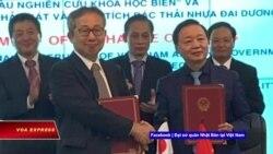 Truyền hình VOA 24/4/21: Nhật tặng tàu nghiên cứu đại dương cho Việt Nam