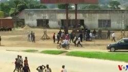 Mshiriki katika maandamano ya kumpinga Kabila akielezea matukio