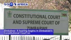 VOA60 Africa - Zimbabwe's High Court to Rule Friday on Presidential Election Petition