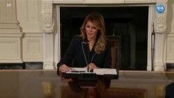 First Lady Melania Trump'ın Beyaz Saray Günleri