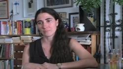 Yoani Sánchez habló con VOA