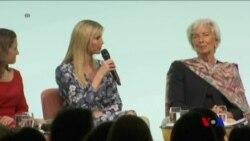伊萬卡在婦女峰會上為父親川普辯護 (粵語)
