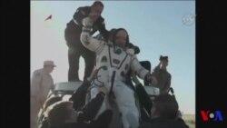 Trois astronautes de l'ISS reviennent sur Terre (vidéo)