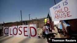 德克萨斯美国海关和边境保护局拘留中心