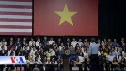 TT Obama khích lệ giới trẻ VN theo đuổi đam mê