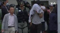 香港特首呼籲警察以人道方式安排理工大剩餘抗議者撤離