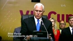 Vicepresidente de EE.UU. habla sobre Venezuela en Perú