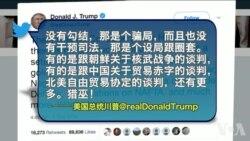 VOA连线(黄耀毅):美贸易代表前往中国前夕,四中国公司上反倾销名单