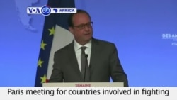 VOA60 Africa - France offer to host meeting on Boko Haram - August 25, 2015