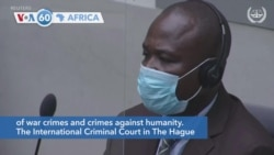 VOA60 Afrikaa - International Criminal Court Convicts Uganda Warlord